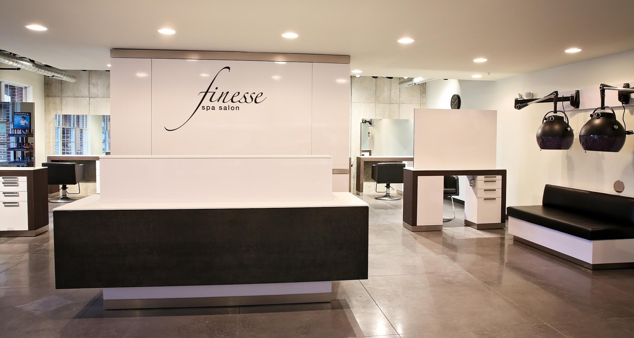 Home finesse spa salon for Salon spa